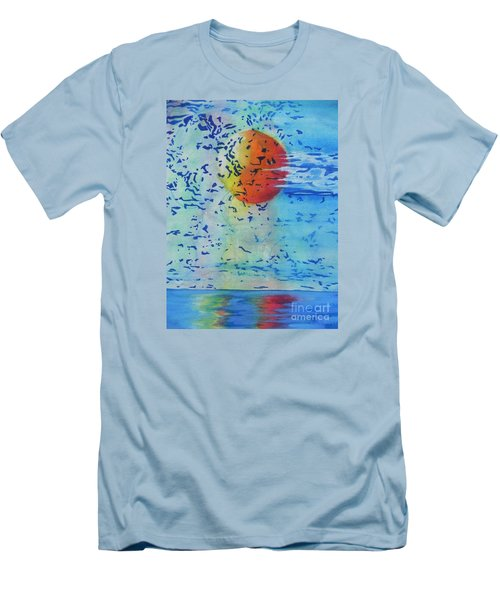 Mother Nature At Her Best  Men's T-Shirt (Slim Fit) by Chrisann Ellis