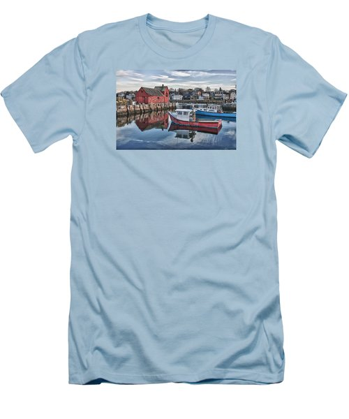 Motif 1 Sky Reflections Men's T-Shirt (Athletic Fit)