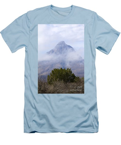 Mountain Cloaked Men's T-Shirt (Slim Fit) by Alycia Christine