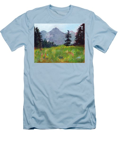Mountain View Men's T-Shirt (Athletic Fit)