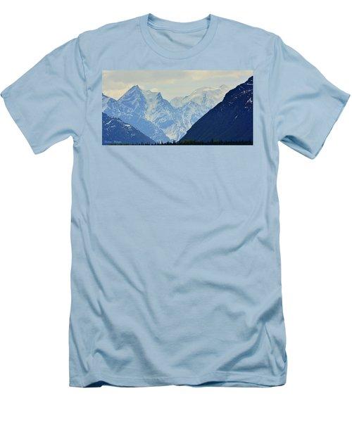 Mountains Near Matanuska Glacier Men's T-Shirt (Athletic Fit)