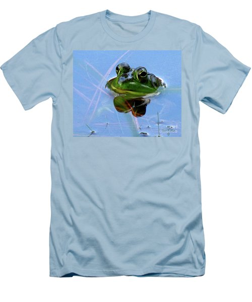 Mr. Frog Men's T-Shirt (Athletic Fit)