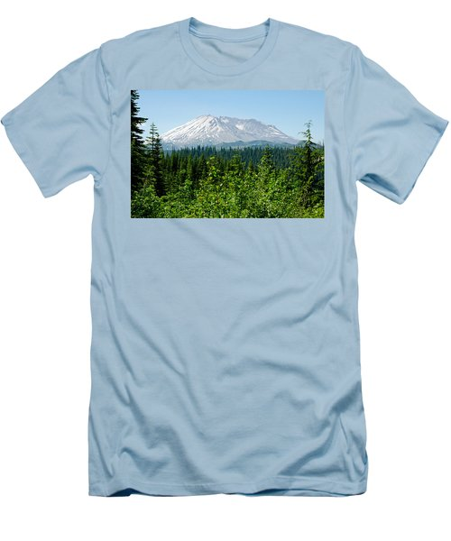 Mt. St. Hellens Men's T-Shirt (Athletic Fit)