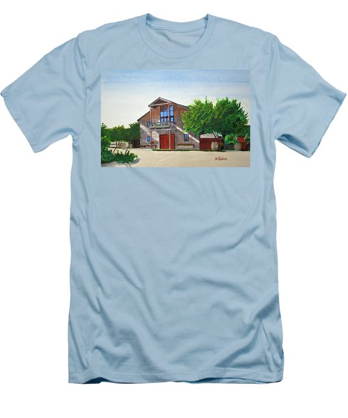 Murrietas Well Winery Men's T-Shirt (Slim Fit) by Mike Robles