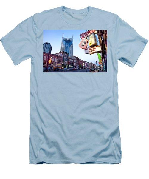Music City Usa Men's T-Shirt (Athletic Fit)