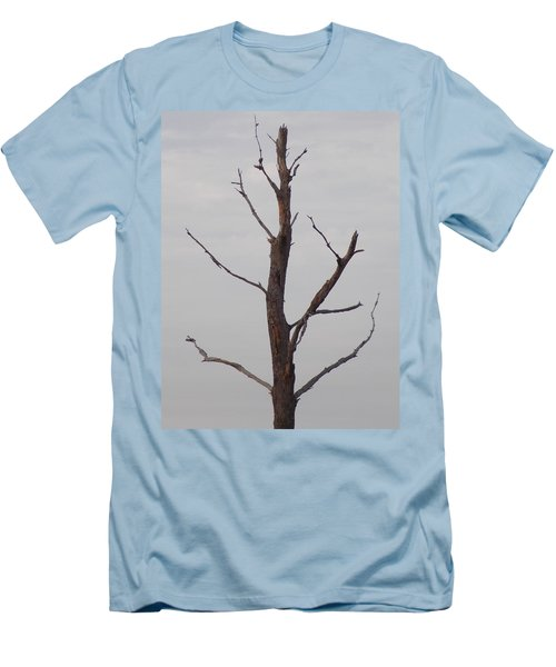 Men's T-Shirt (Slim Fit) featuring the photograph Alzheimer's  Please Read Description by John Glass