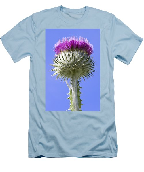 National Flower Of Scotland Men's T-Shirt (Athletic Fit)