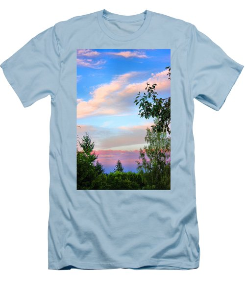 Men's T-Shirt (Slim Fit) featuring the photograph Nature Palette by Kristin Elmquist