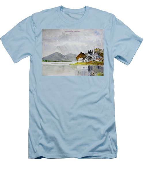 Nature's Painting Men's T-Shirt (Athletic Fit)