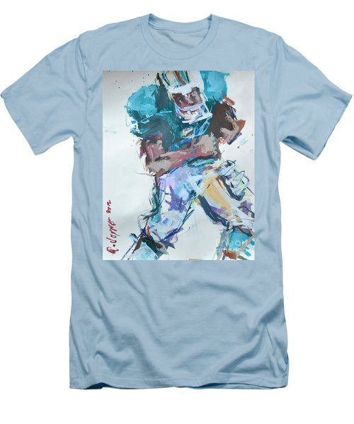 Nfl Football Painting Men's T-Shirt (Athletic Fit)