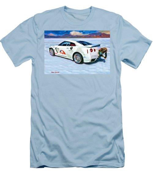 Nissan Salt Flats Men's T-Shirt (Athletic Fit)