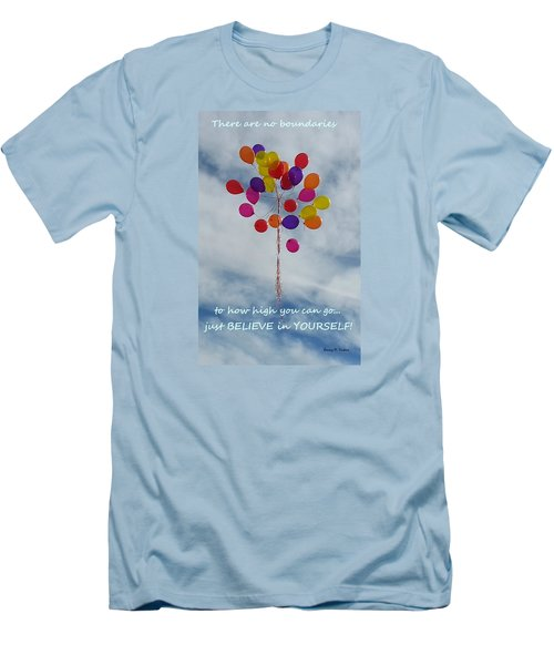 No Boundaries Men's T-Shirt (Slim Fit) by Emmy Marie Vickers