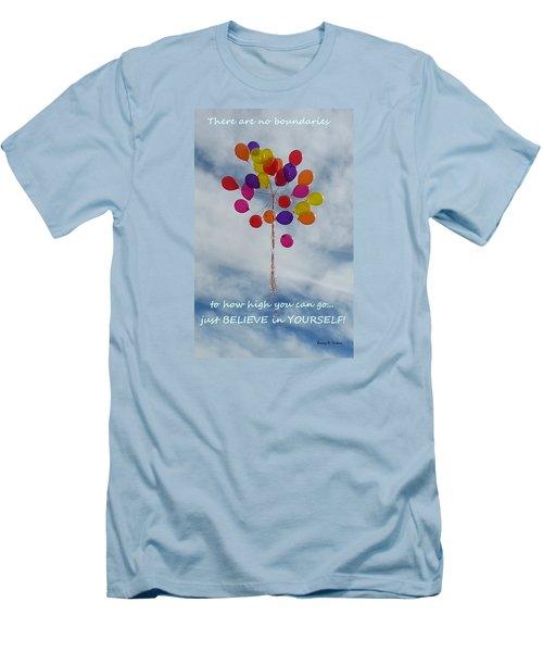 No Boundaries Men's T-Shirt (Athletic Fit)