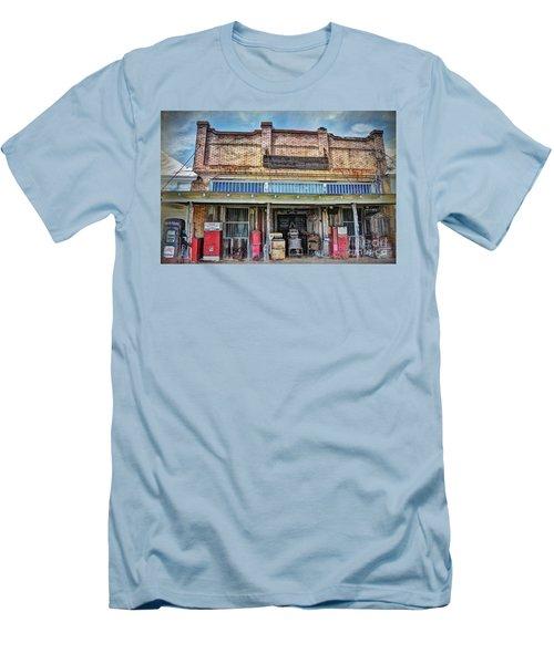 Northington Land And Cattle Men's T-Shirt (Slim Fit) by Savannah Gibbs