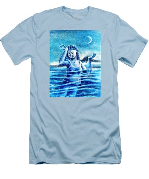 Not Waving But Drowning Men's T-Shirt (Slim Fit) by Trudi Doyle