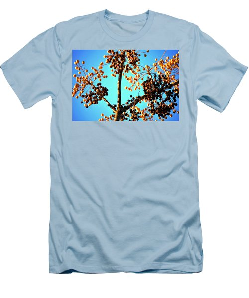 Men's T-Shirt (Slim Fit) featuring the photograph Nuts And Berries by Matt Harang