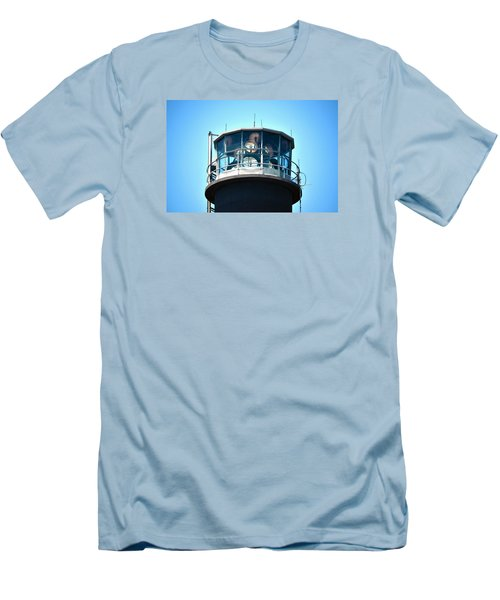 Oak Island Lighthouse Beacon Lights Men's T-Shirt (Athletic Fit)