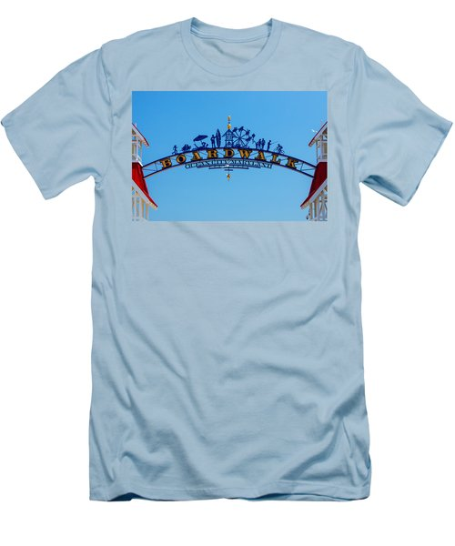 Ocean City Boardwalk Arch Men's T-Shirt (Athletic Fit)