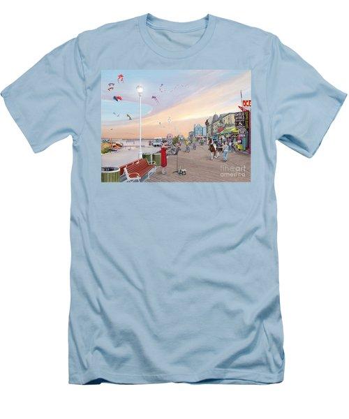 Ocean City Maryland Men's T-Shirt (Athletic Fit)