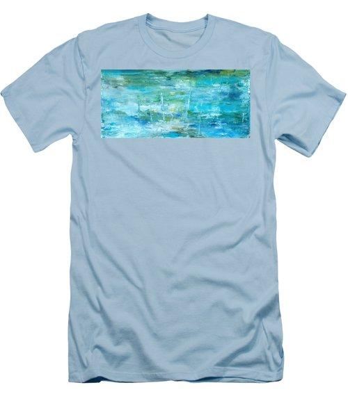 Ocean I Men's T-Shirt (Athletic Fit)