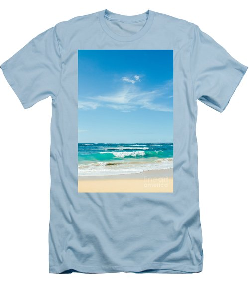 Men's T-Shirt (Athletic Fit) featuring the photograph Ocean Of Joy by Sharon Mau