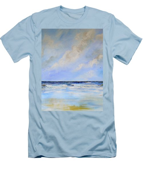 Ocean View Men's T-Shirt (Slim Fit) by Dorothy Maier