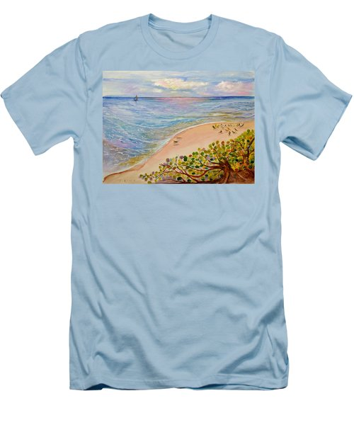 Seaside Grapes Men's T-Shirt (Athletic Fit)