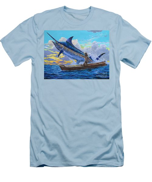 Old Man And The Sea Off00133 Men's T-Shirt (Athletic Fit)
