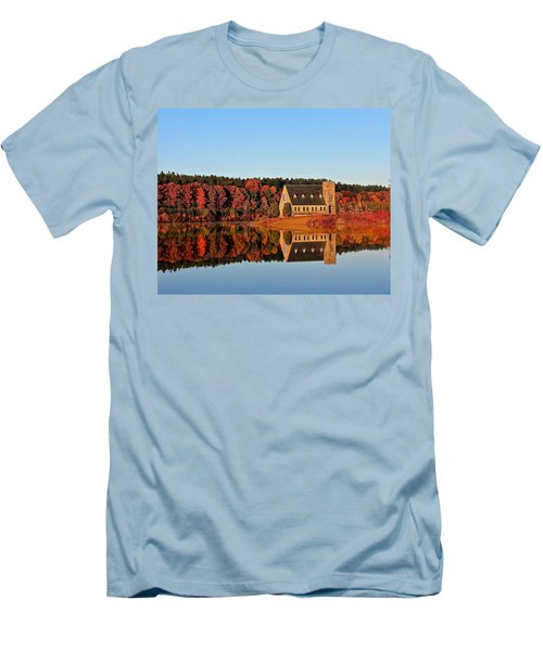 Old Stone Church Men's T-Shirt (Athletic Fit)