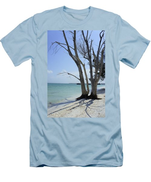Men's T-Shirt (Slim Fit) featuring the photograph Old Tree by Laurie Perry