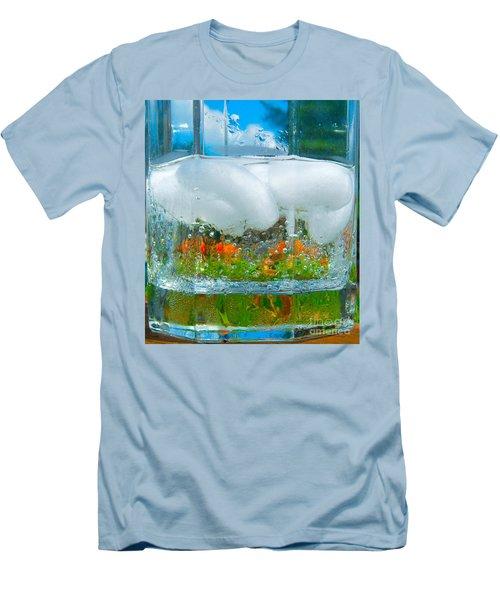 On The Rocks Men's T-Shirt (Slim Fit)