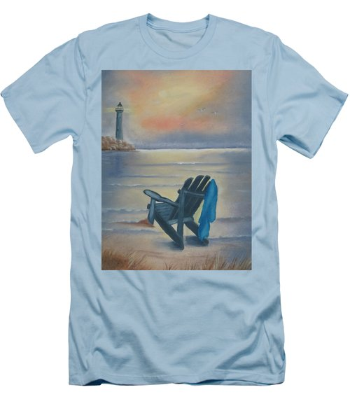 One Is A Lonely Number Men's T-Shirt (Slim Fit) by Kay Novy