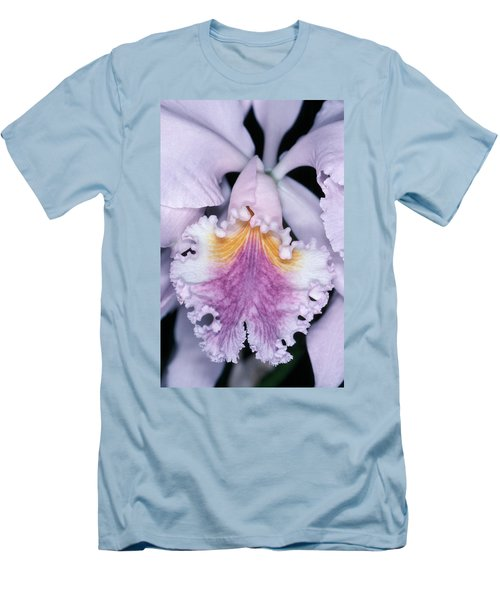 Orchid 2 Men's T-Shirt (Slim Fit) by Andy Shomock