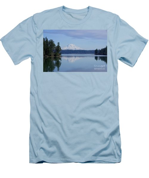 Oro Bay Reflection Men's T-Shirt (Slim Fit) by Sean Griffin