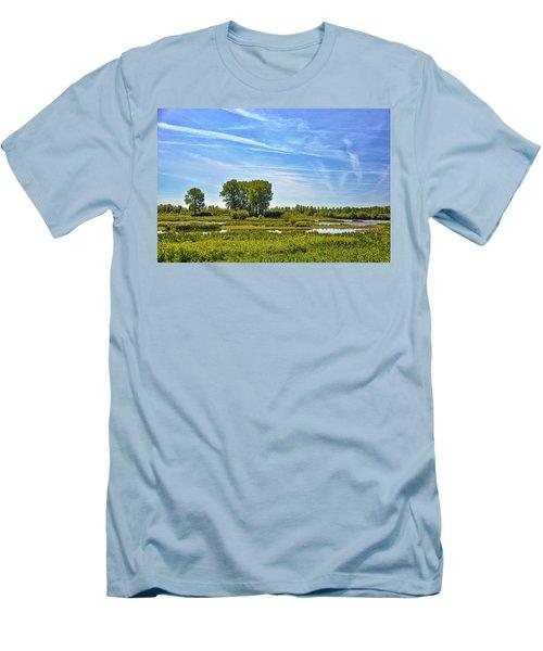 Ossenwaard Near Deventer Men's T-Shirt (Slim Fit) by Frans Blok