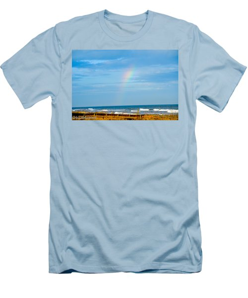 Out Of The Blue  Men's T-Shirt (Athletic Fit)