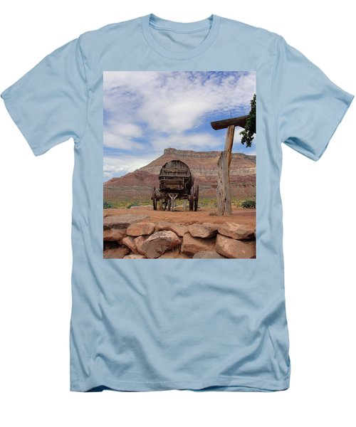 Out West Men's T-Shirt (Slim Fit) by Natalie Ortiz