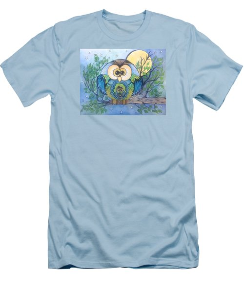 Owl Take Care Of You Men's T-Shirt (Athletic Fit)