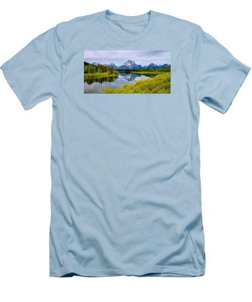 Oxbow Summer Men's T-Shirt (Slim Fit) by Chad Dutson