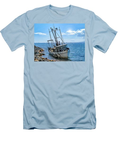 Pacific Maid 2 Men's T-Shirt (Athletic Fit)