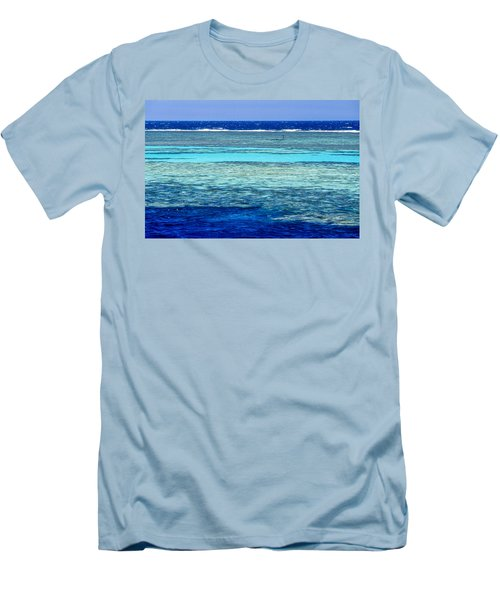 Panorama Reef Men's T-Shirt (Athletic Fit)