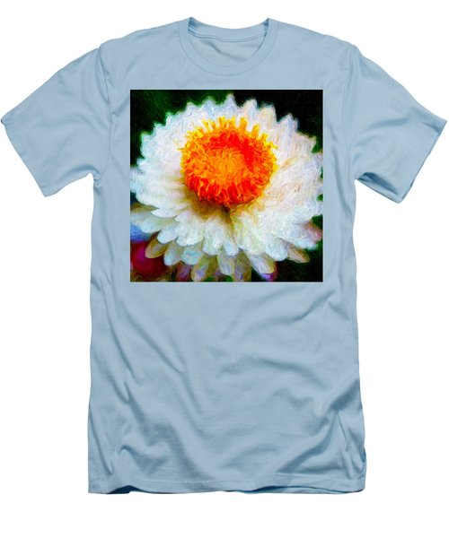Paper Daisy Men's T-Shirt (Athletic Fit)