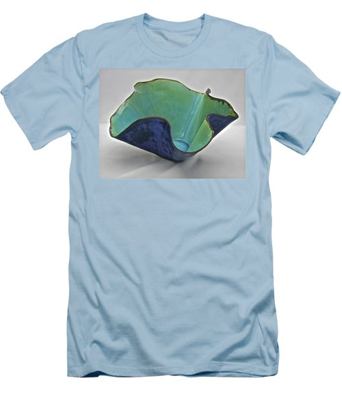 Paper-thin Bowl  09-006 Men's T-Shirt (Slim Fit) by Mario Perron
