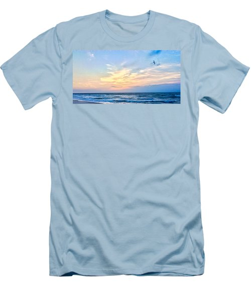 Paraclete At Sunrise  Men's T-Shirt (Athletic Fit)