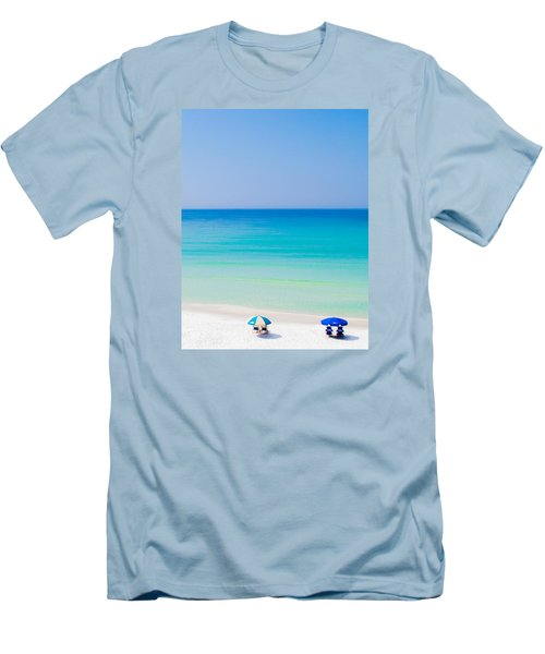 Paradise Men's T-Shirt (Slim Fit) by Shelby  Young