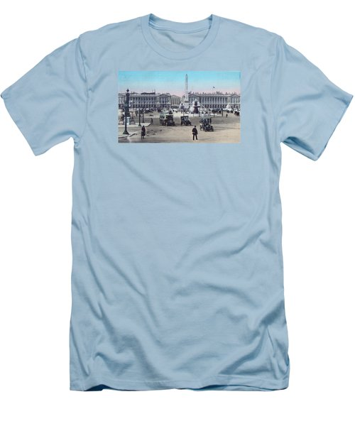 Paris Place De La Concorde 1910 Men's T-Shirt (Athletic Fit)