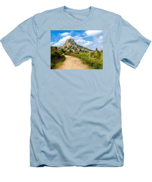 Path Into The Hills Men's T-Shirt (Athletic Fit)