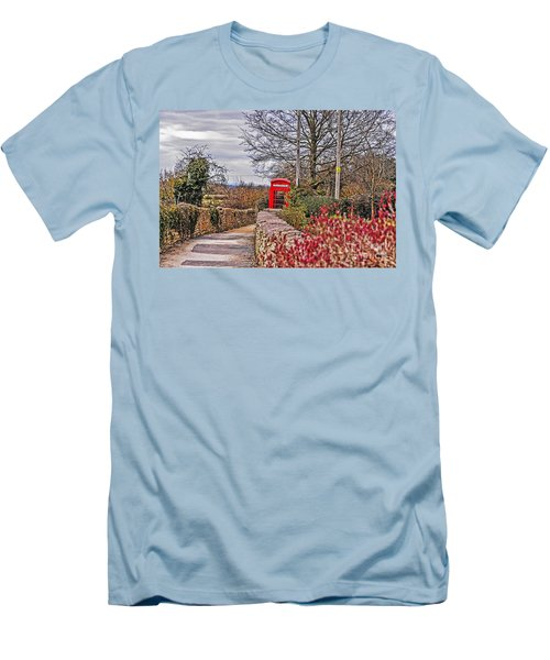 Path Through The Cotswolds Men's T-Shirt (Athletic Fit)
