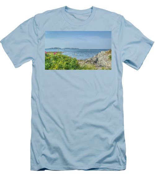 Men's T-Shirt (Slim Fit) featuring the photograph Path To The Cove by Jane Luxton