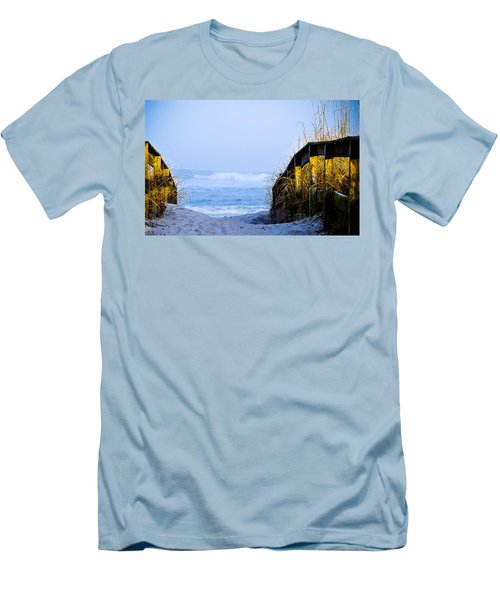 Pathway To Happiness Men's T-Shirt (Athletic Fit)